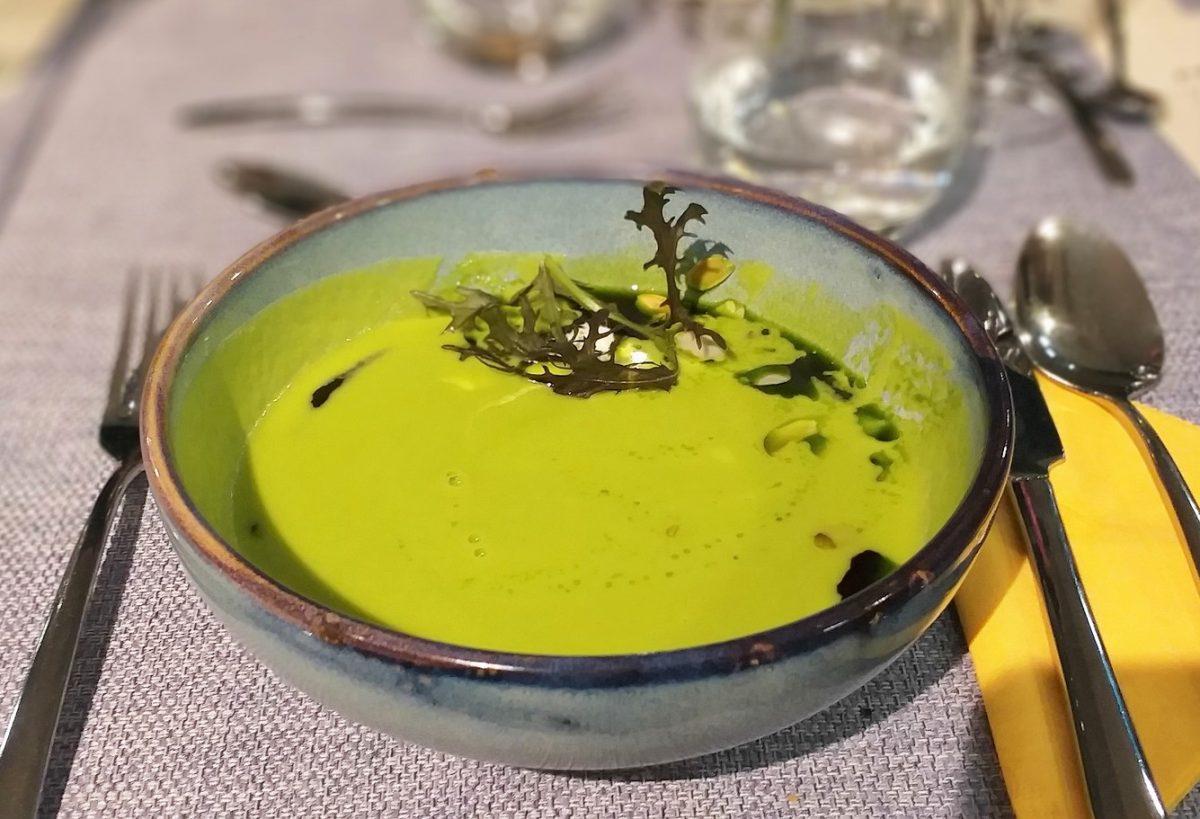 Crema di ricotta con verdure