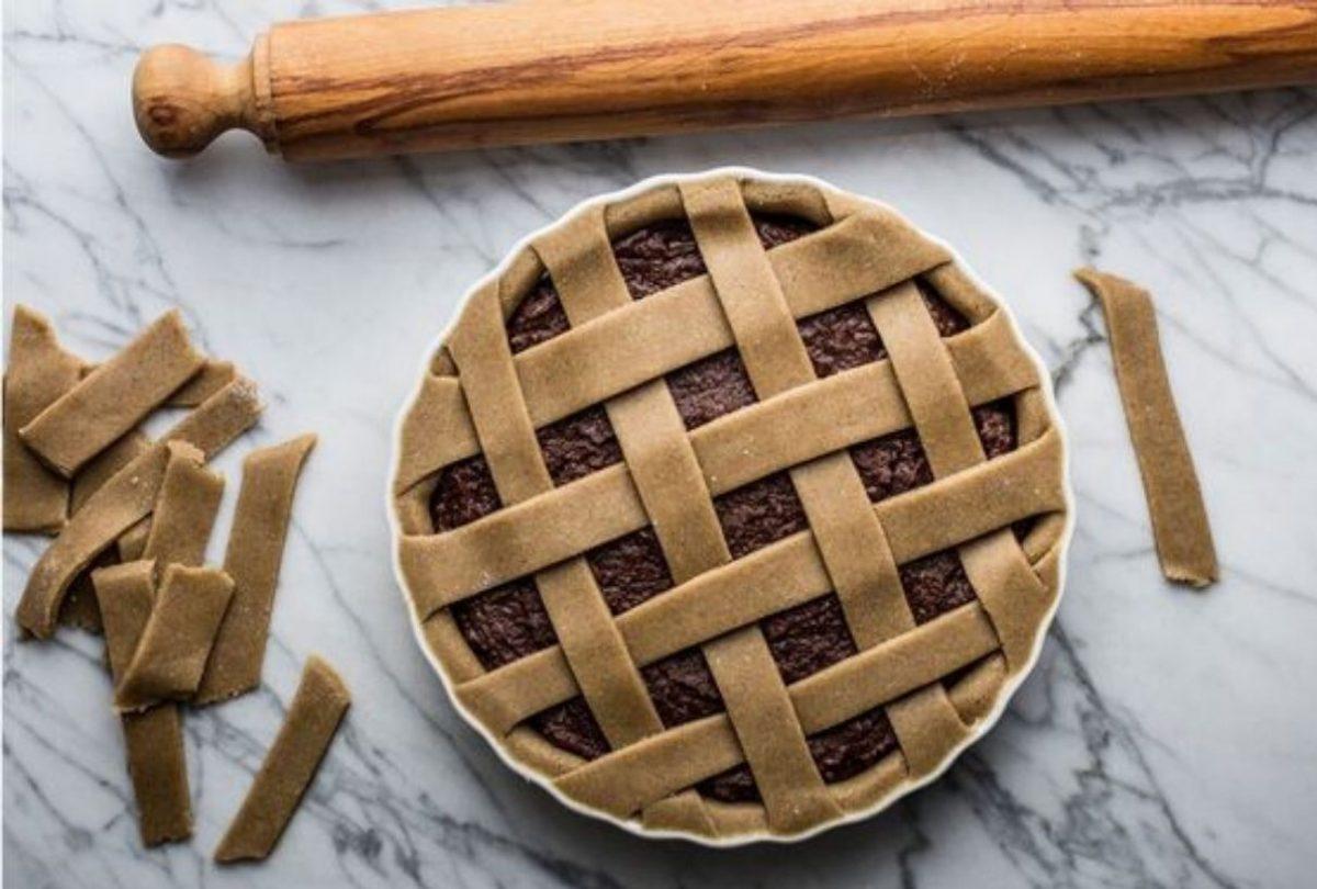 crostata al cacao con cremor tartaro