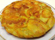 frittata senza uova con patate