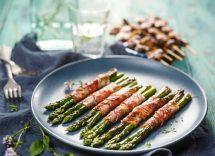 involtini di asparagi selvatici