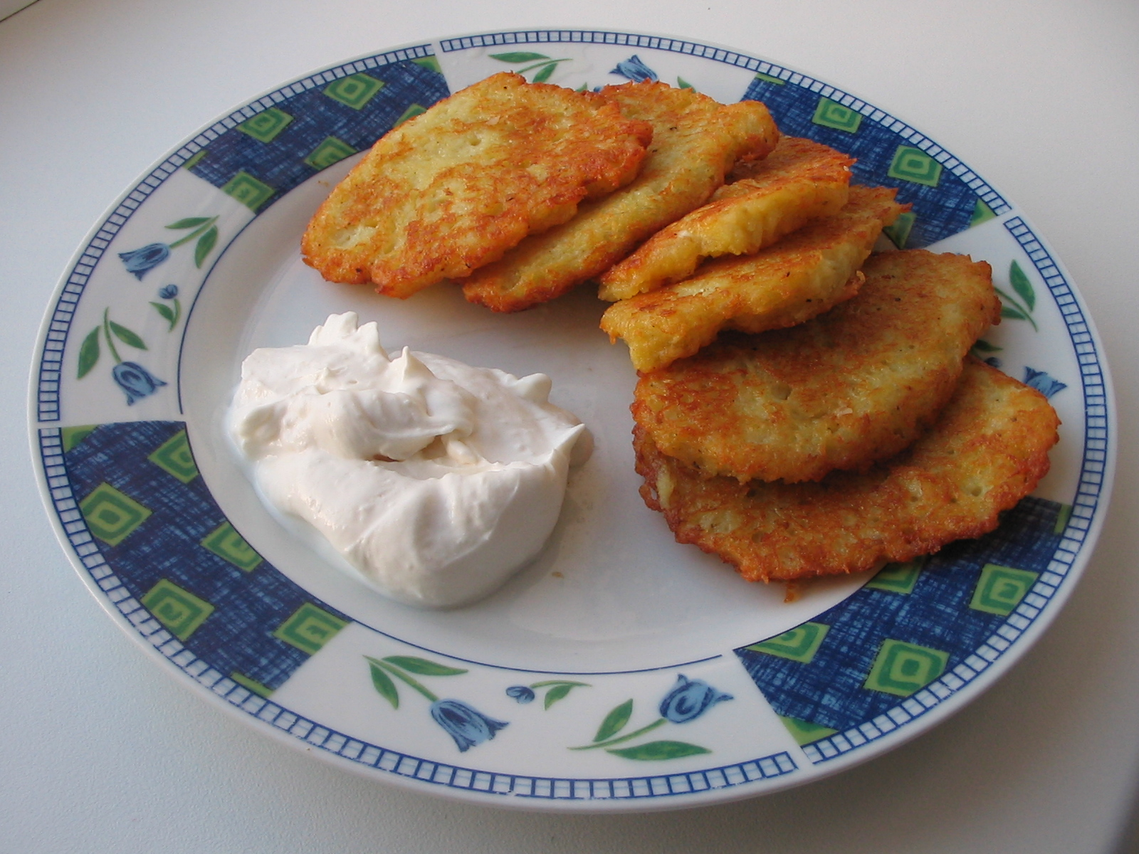 Latkes di patate croccanti
