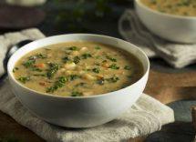 minestra zucchine bietole spinaci