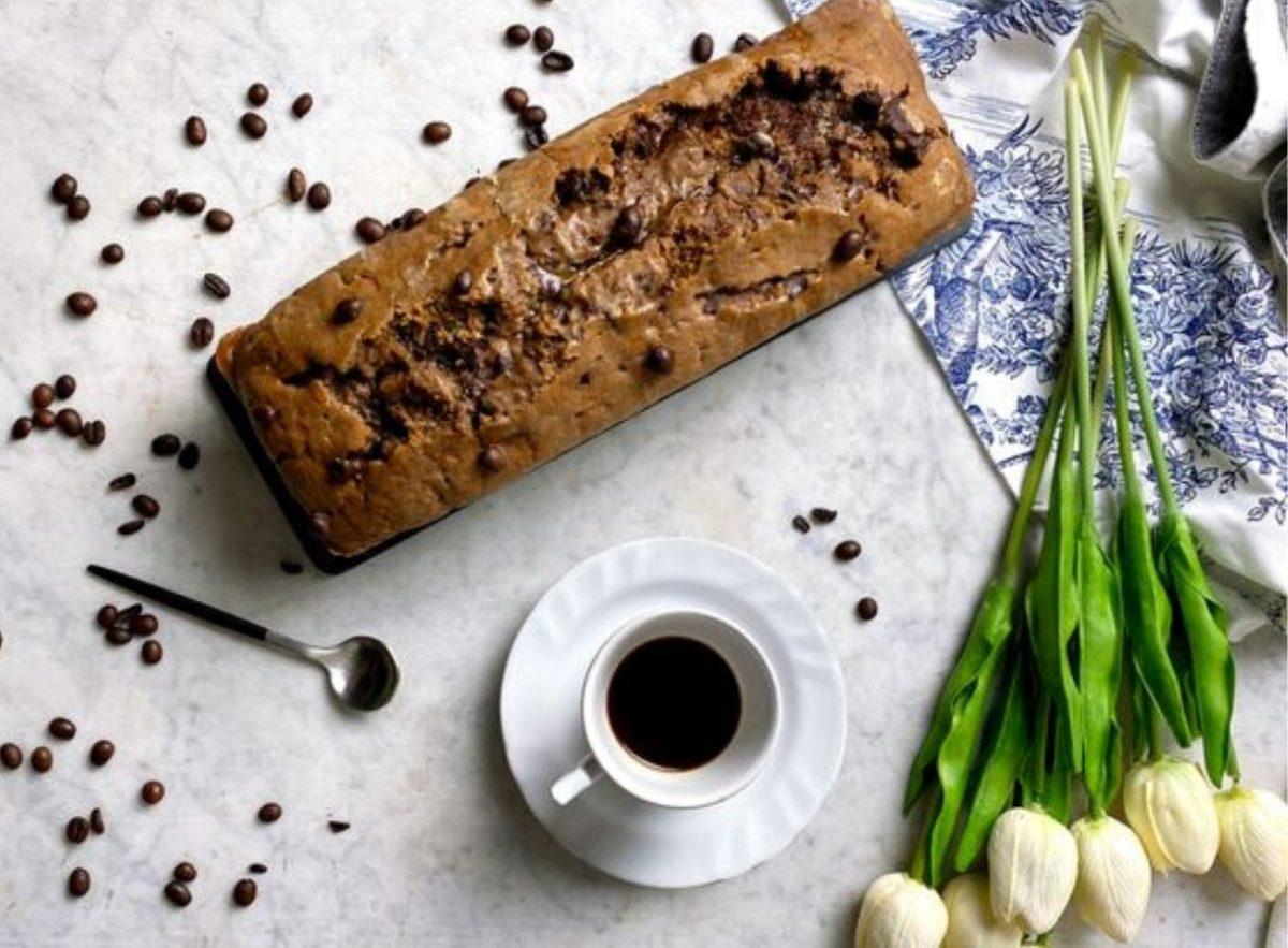 Plumcake senza glutine al caffè