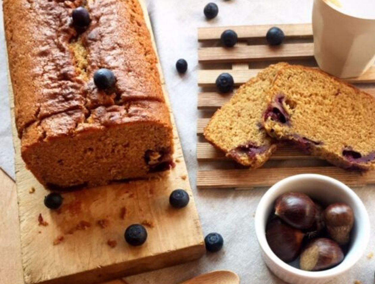 Plumcake senza glutine con farina di castagne