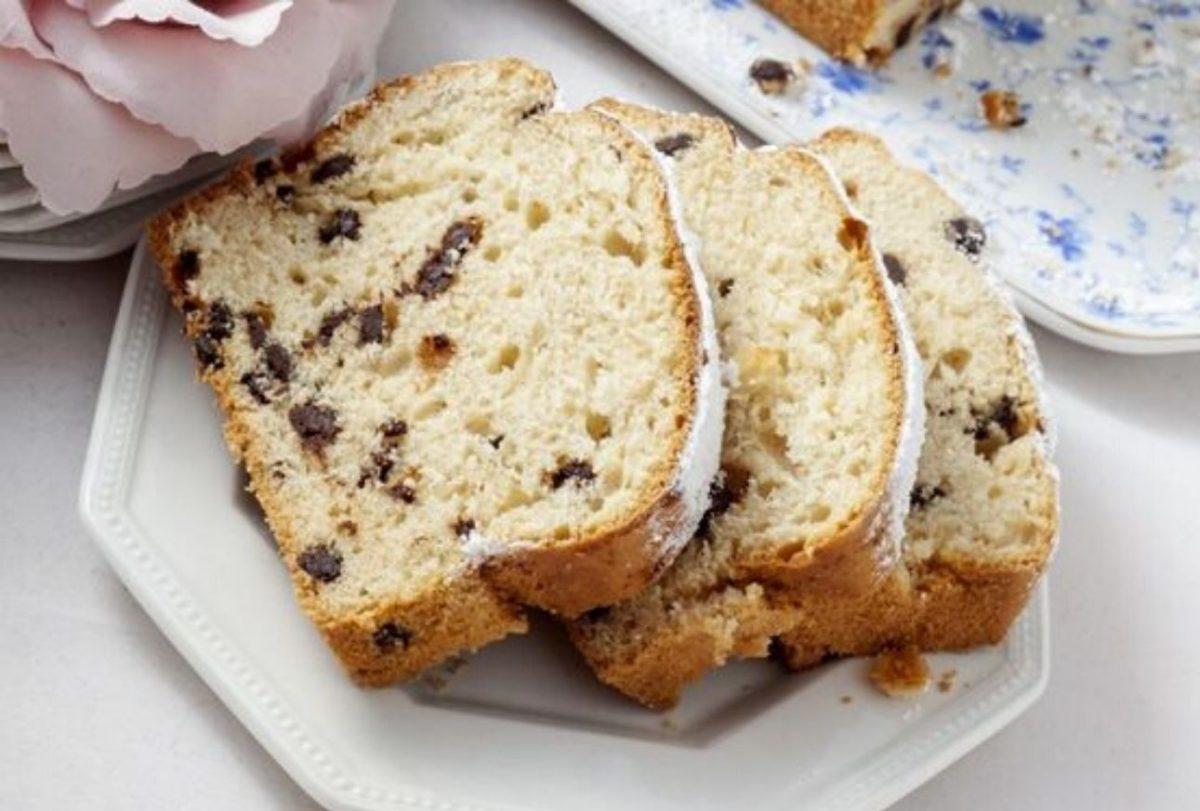 Plumcake senza glutine con gocce di cioccolato