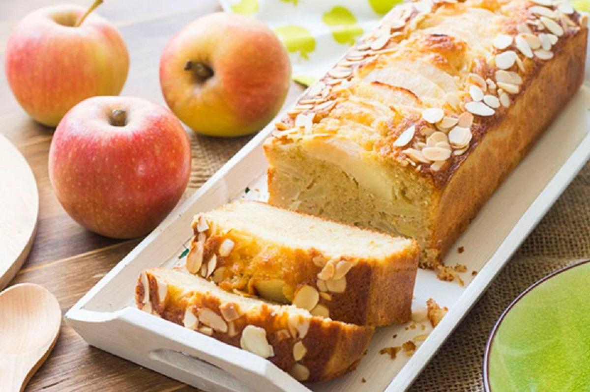 Plumcake senza lievito alle mele