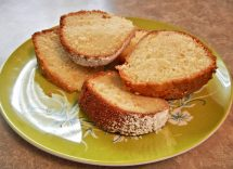 Plumcake senza lievito con farina di riso