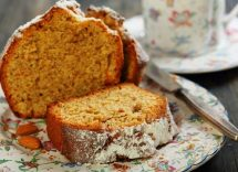 plumcake senza lievito con farina di segale