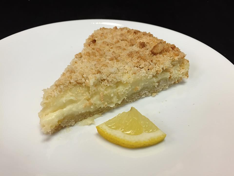 Sbriciolata alla crema di limone con Bimby