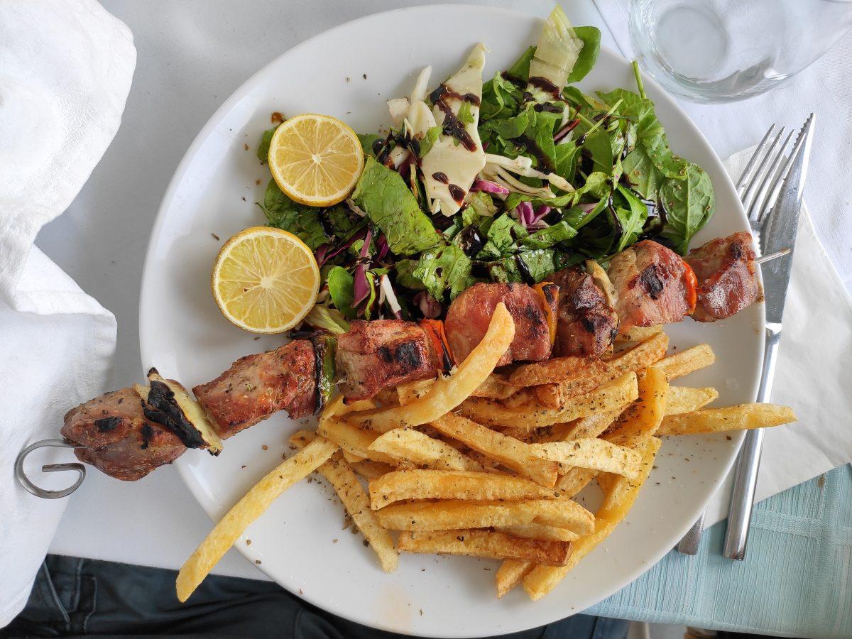 Souvlaki ricetta greca