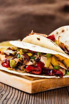 tacos pollo e peperoni