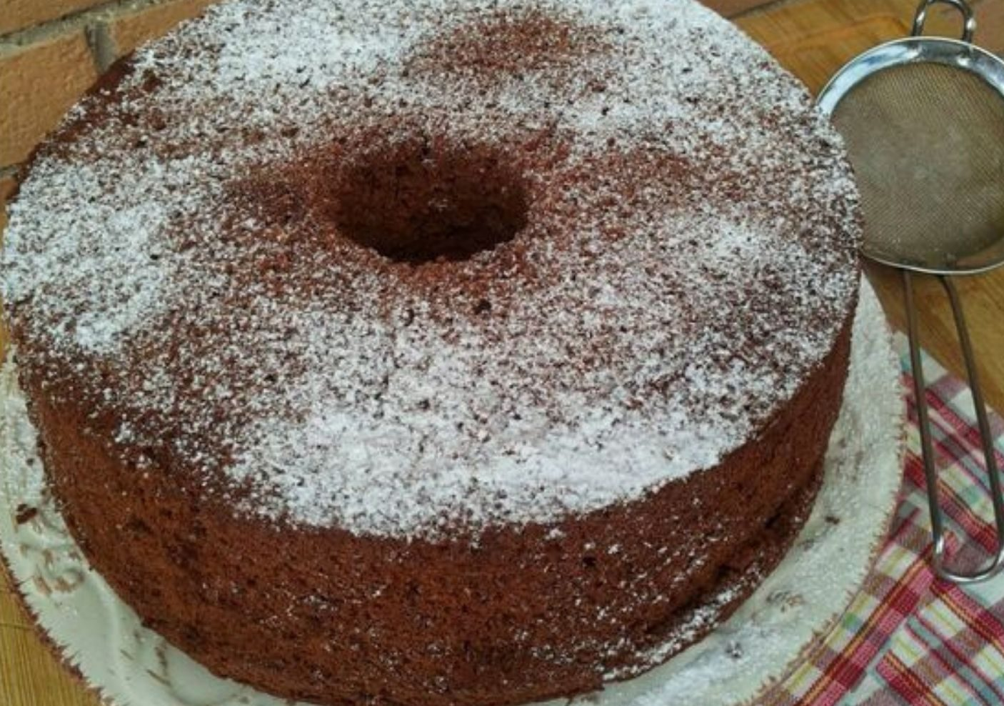 Torta al cioccolato con cremor tartaro
