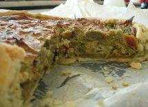 Torta salata ai carciofi con Bimby
