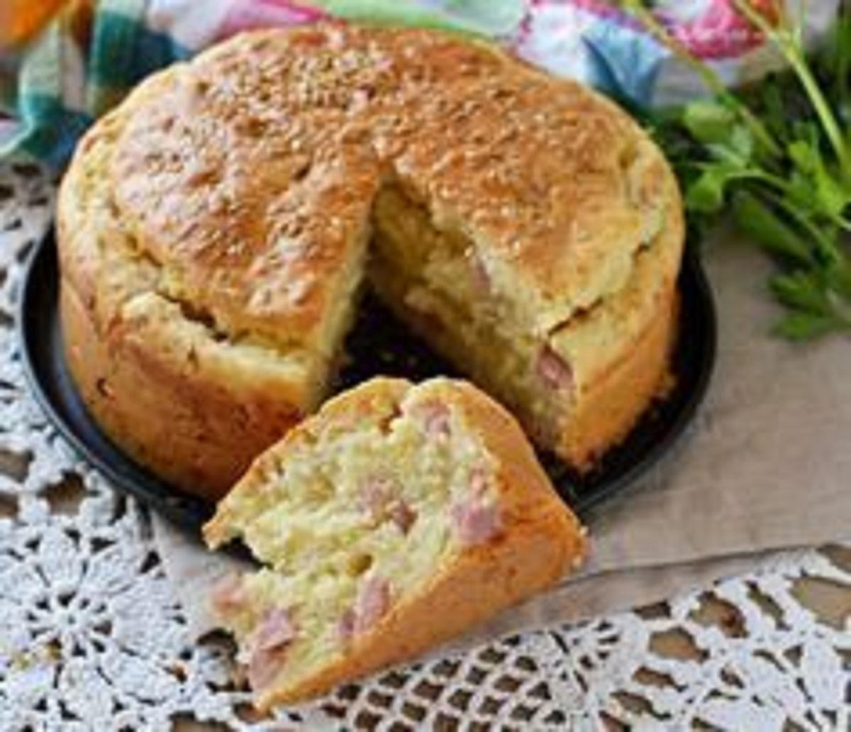 torta salata con lupini