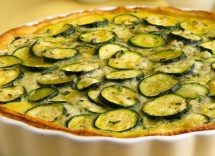 Torta salata zucchine e ricotta con Bimby
