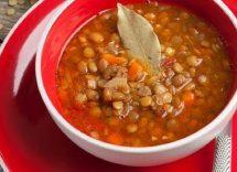 zuppa di lenticchie alla paprika