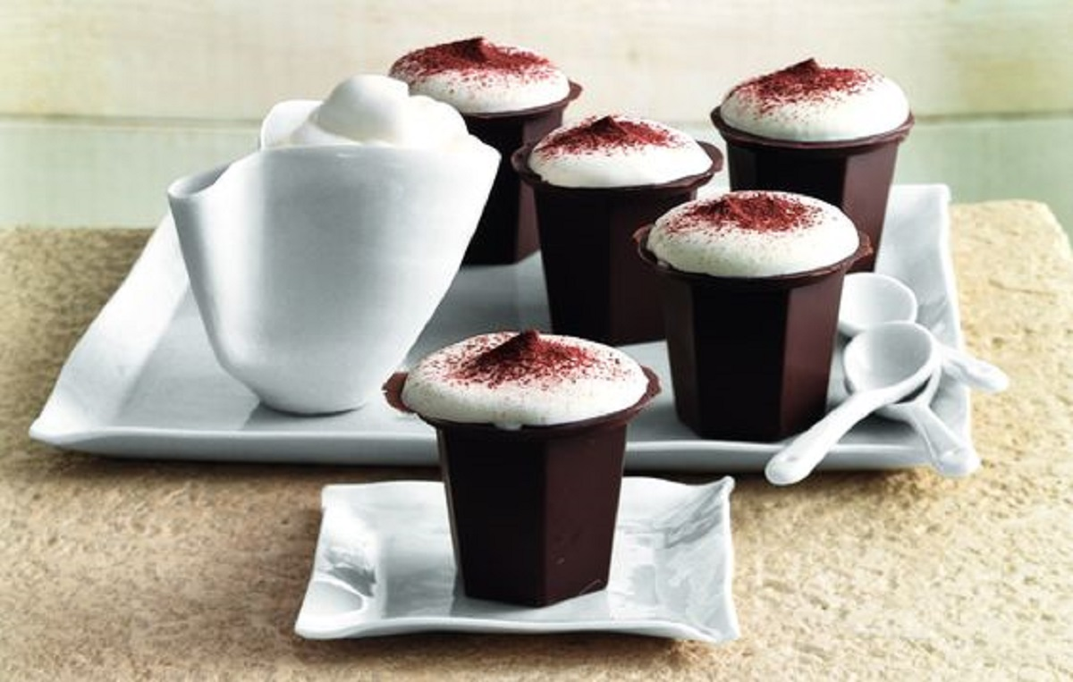 bicchierini di cioccolato ricetta