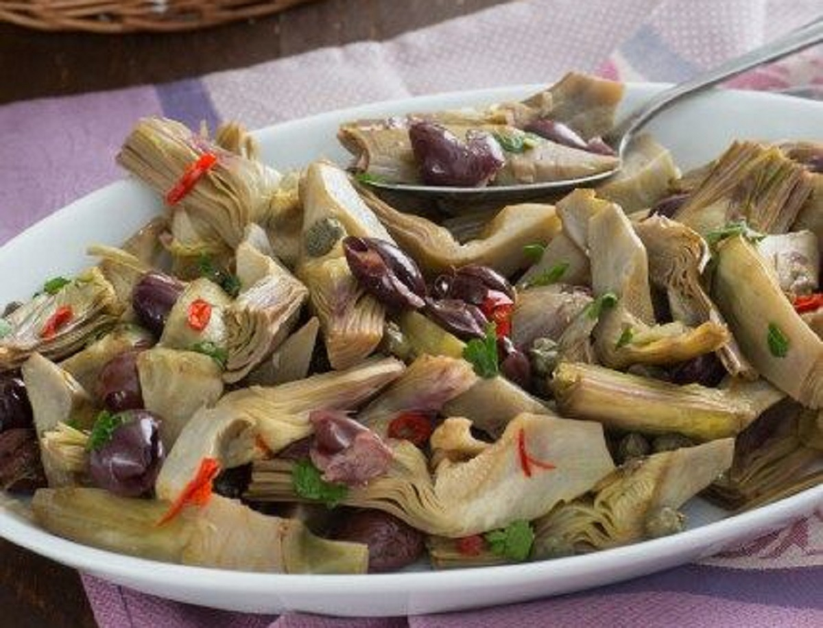 carciofi affogati ricetta napoletana