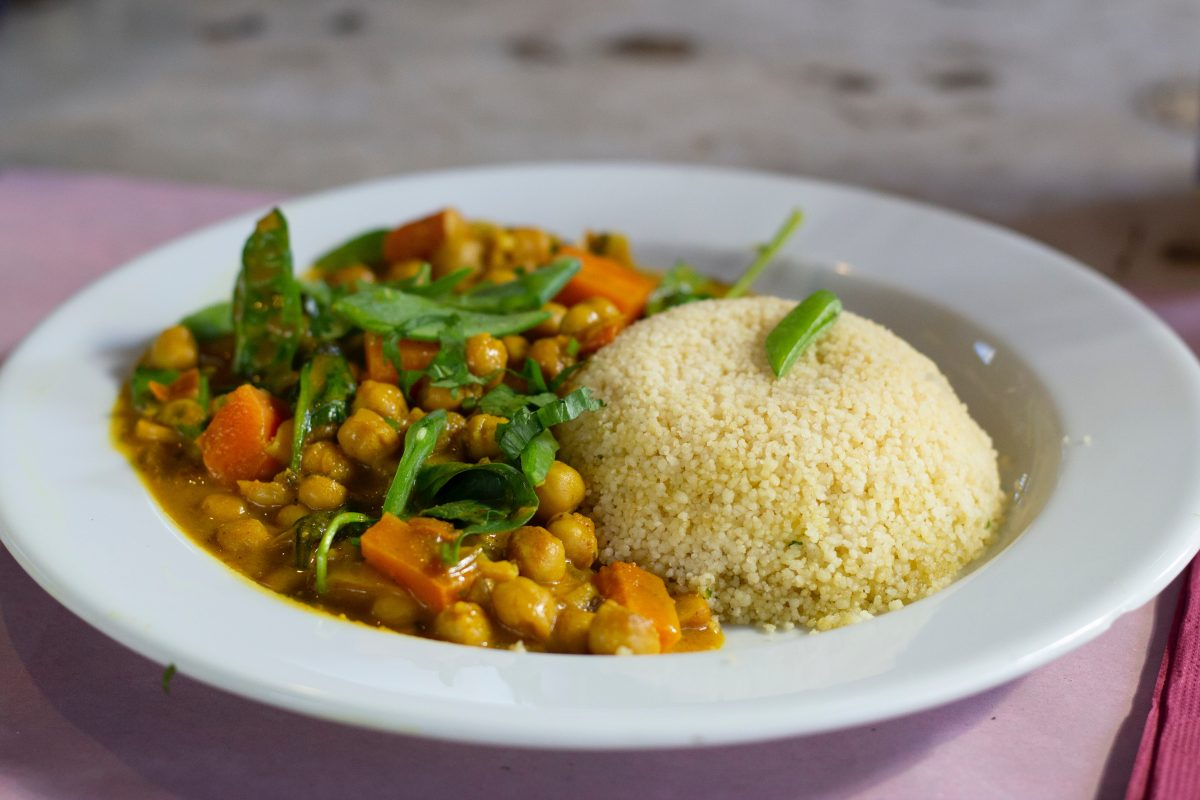 Ceci al curry vegan