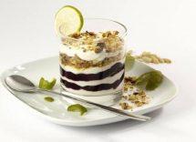 coppette cremose allo yogurt