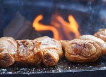 Cosce di pollo in crosta di sale al forno