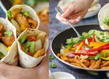 fajitas di pollo e peperoni ricetta originale
