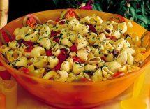 insalata di pasta alla mediterranea