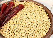 Insalata di soia e cuori di palma