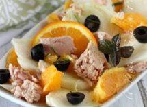 insalata di tonno e arance