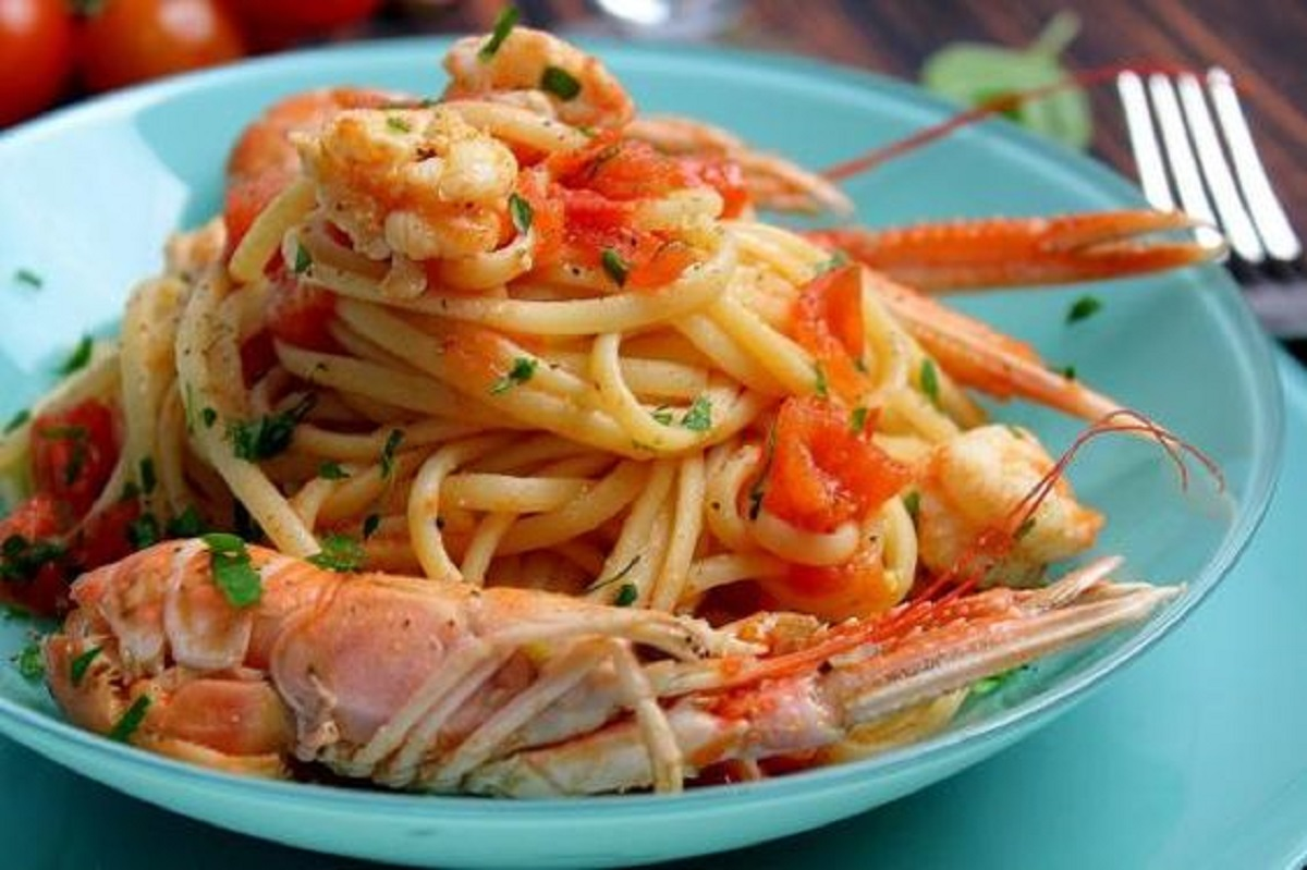 linguine agli scampi ricetta napoletana