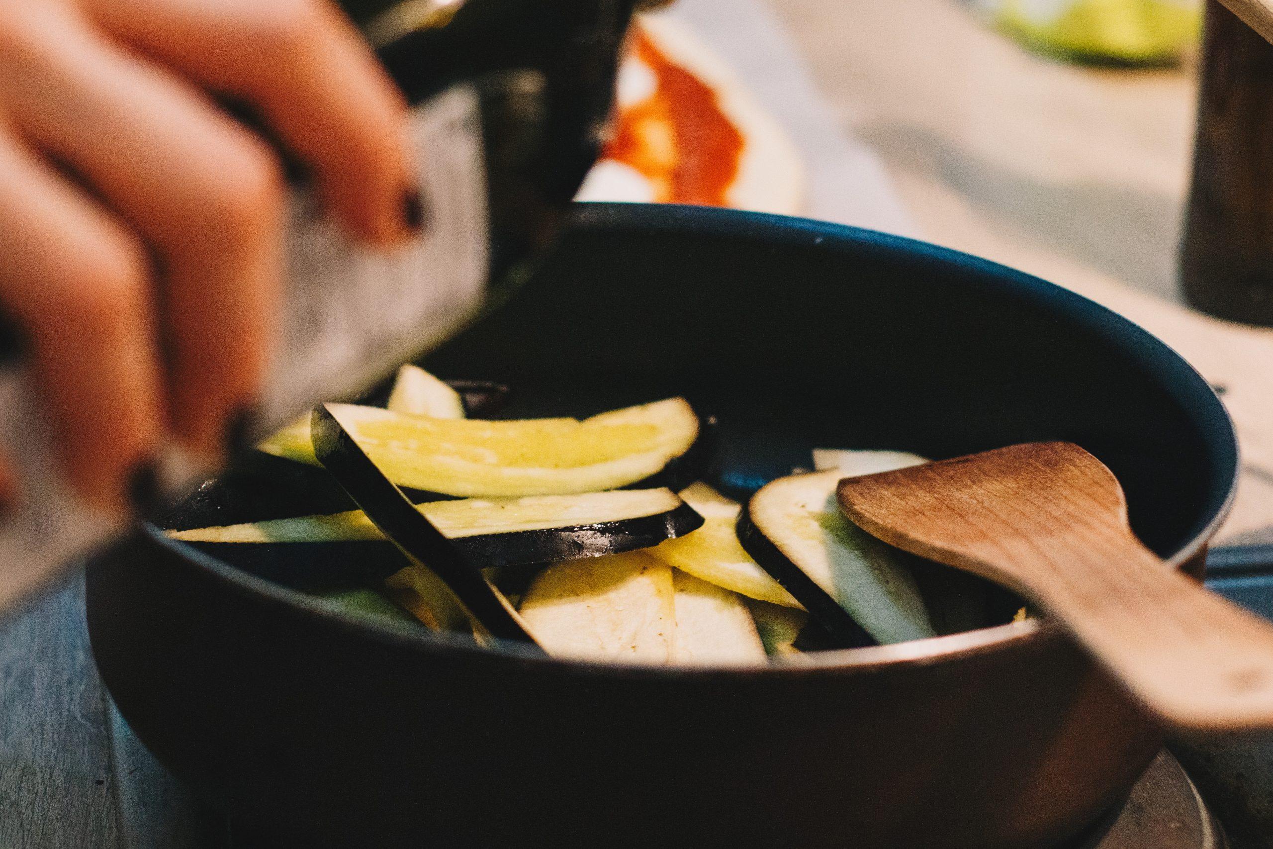 Melanzane allo zenzero e salsa di soia
