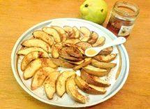 mele al forno miele e cannellamele al forno miele e cannella