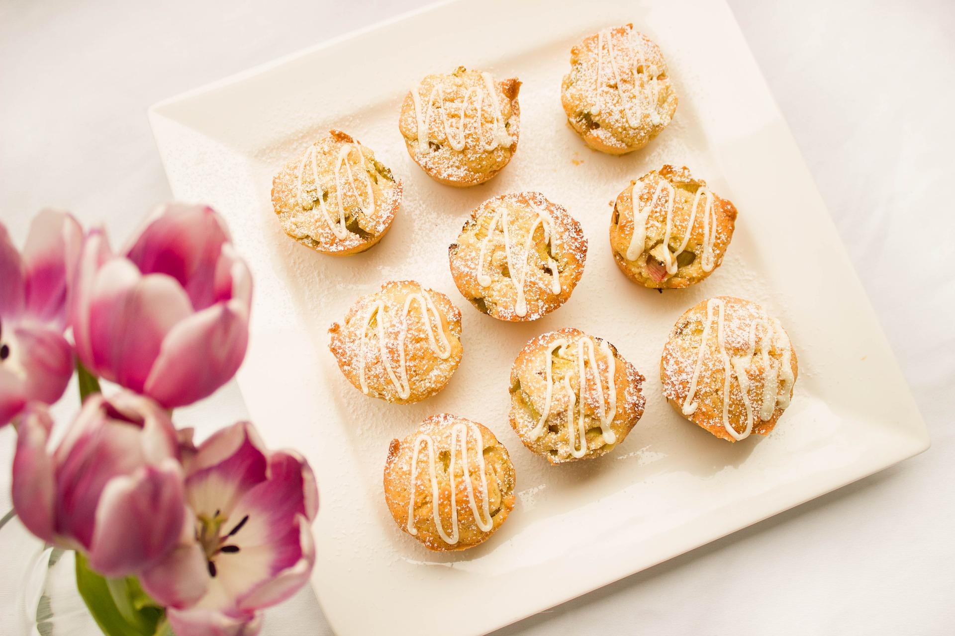 Muffin con farina di lupini