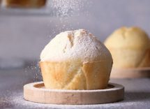 muffin di banane e yogurt