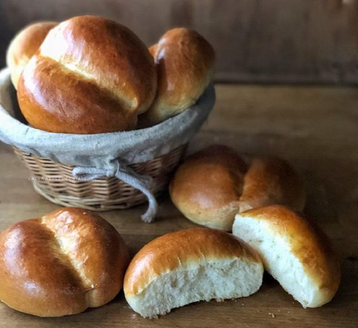 pane al latte con bimby