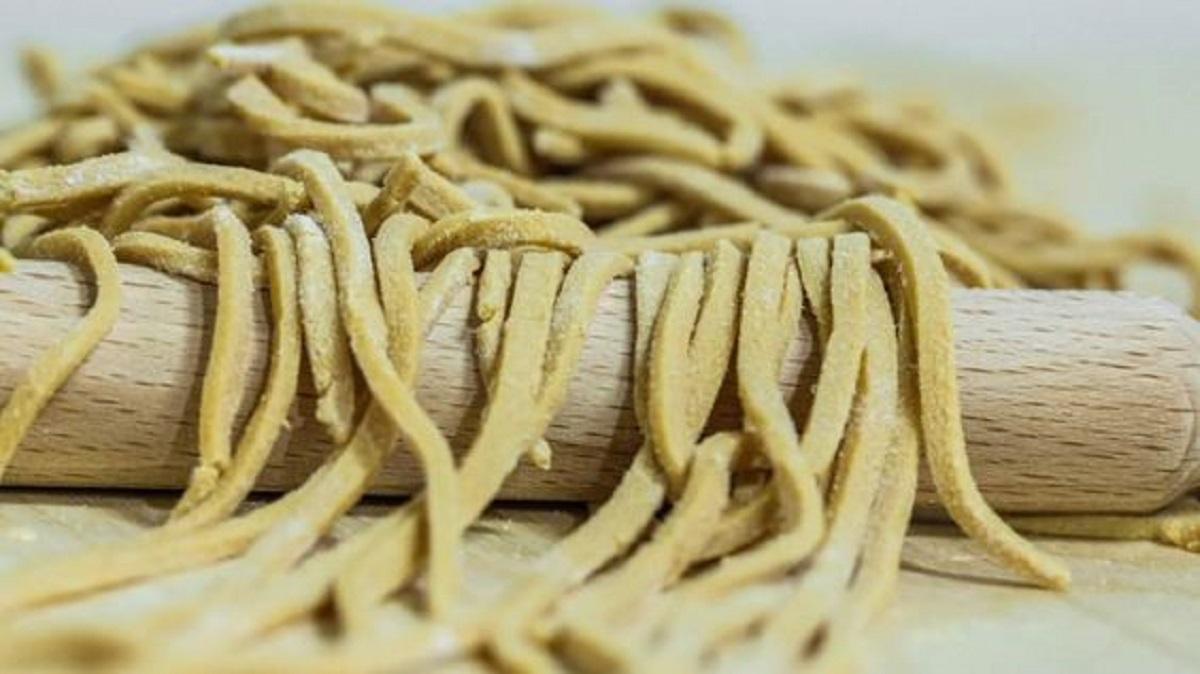 pasta di soia fatta in casa