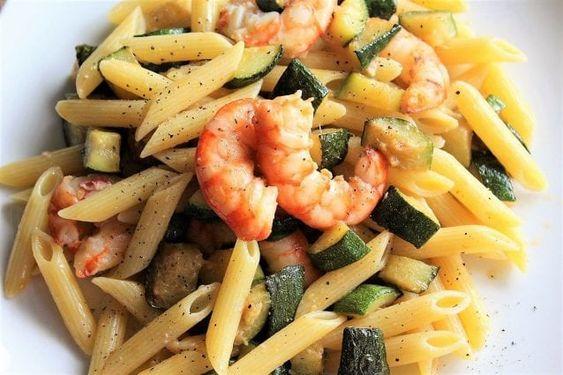 pasta zucchine gamberetti