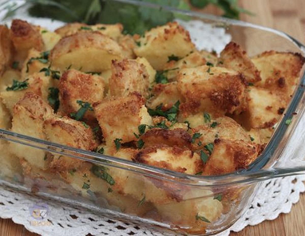 patate parmigiano e prezzemolo