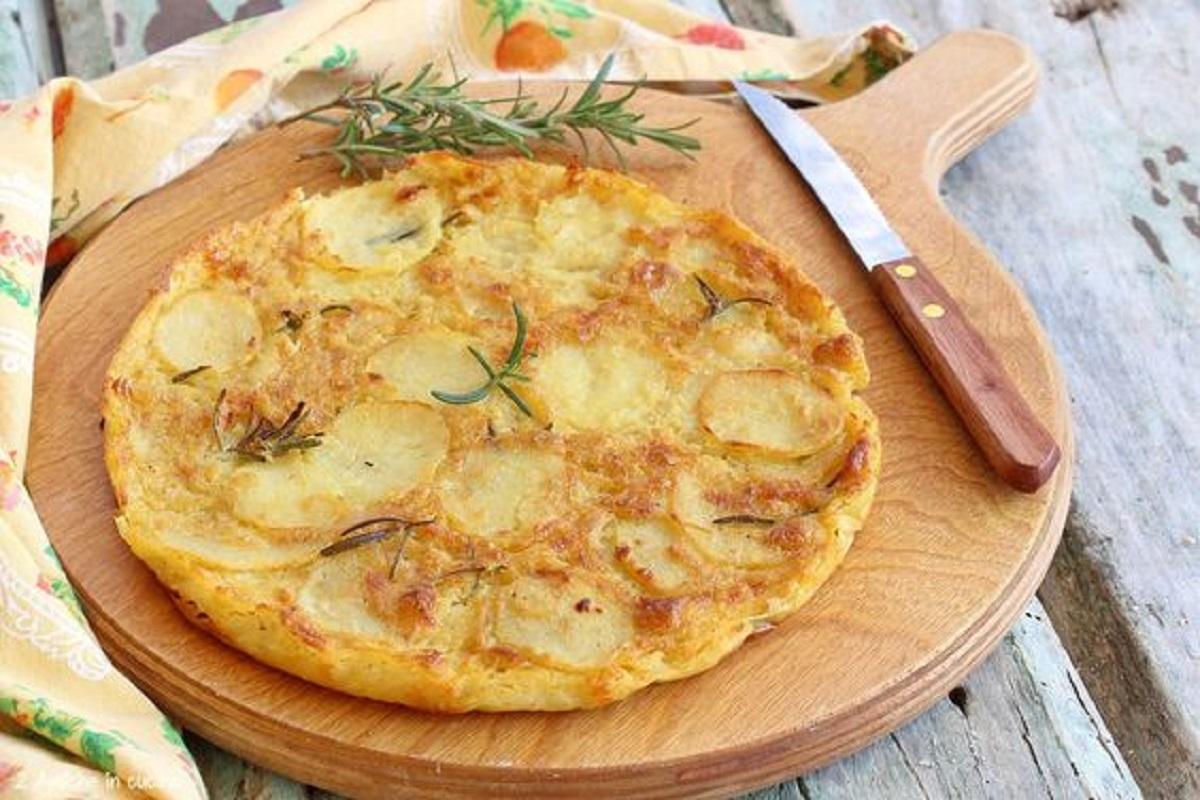 pizza di ceci e patate