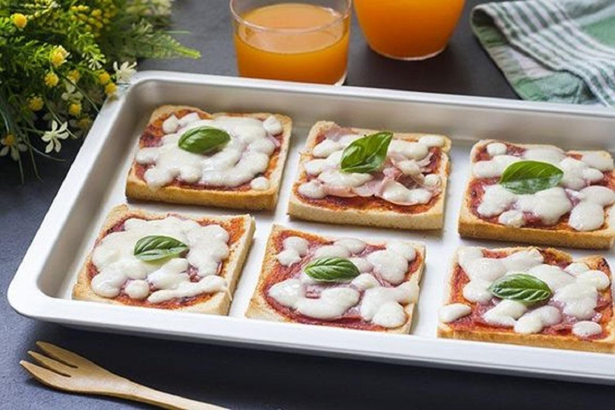 pizza di pancarrè al forno