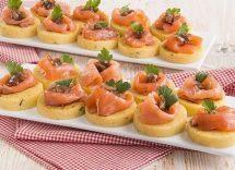 ricetta canape al salmone affumicato