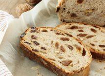 ricetta pane con noci e fichi secchi