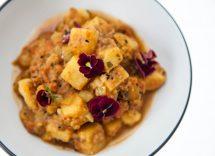 Ricetta spezzatino di soia al curry