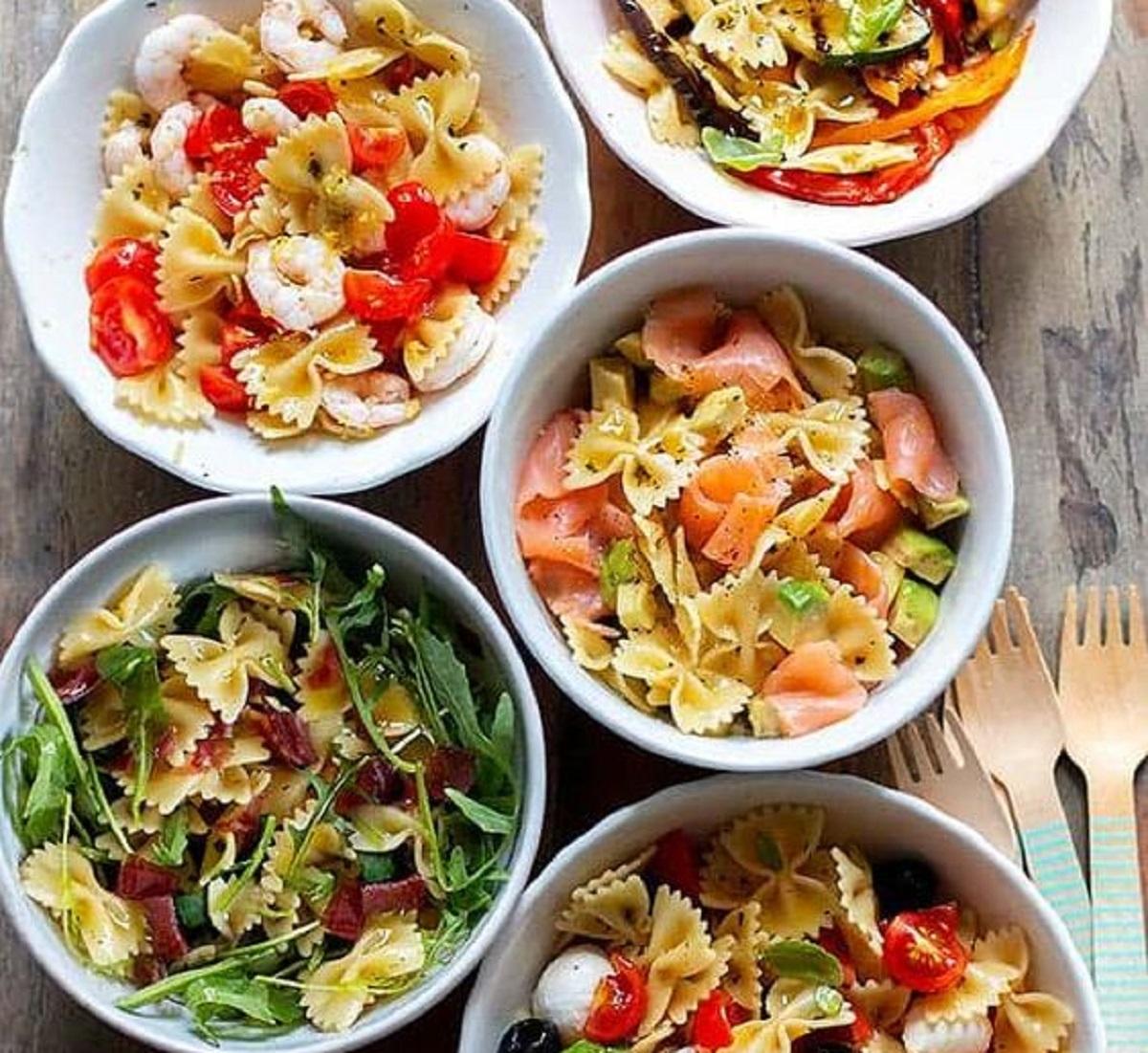 ricette pasta fredda estiva light: 5 proposte