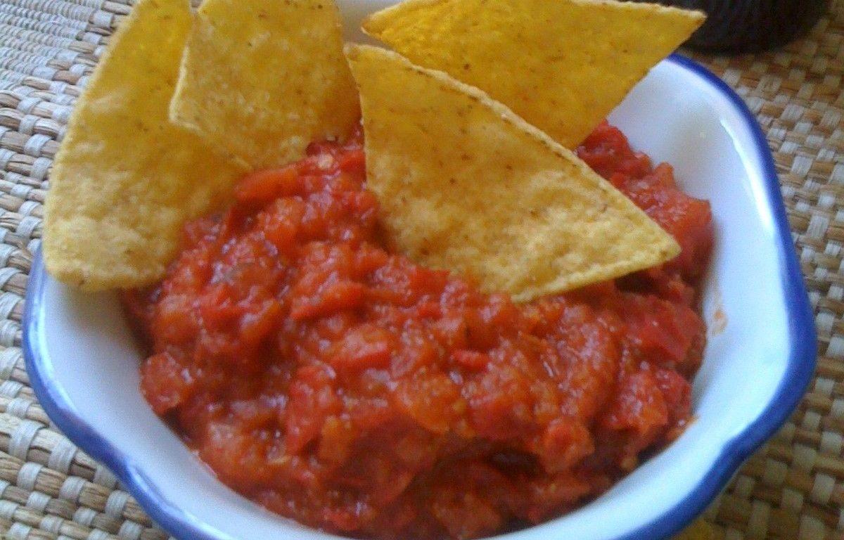 salsa messicana piccante bimby