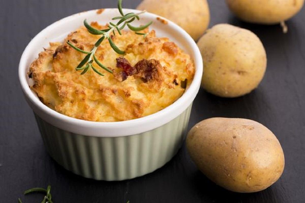 soufflè di patate light