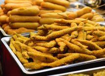 Stick di avocado fritti