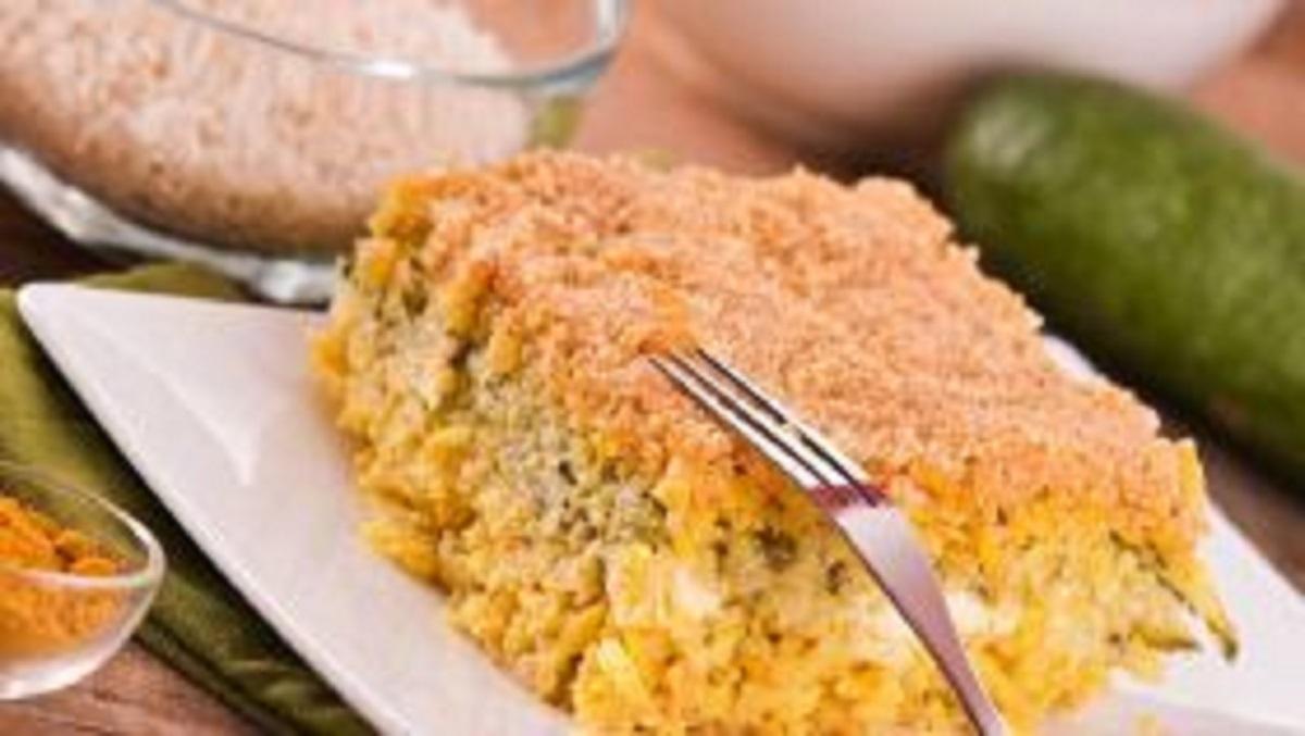 timballo di riso formaggio e lupini