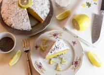Torta al limone e yogurt senza glutine