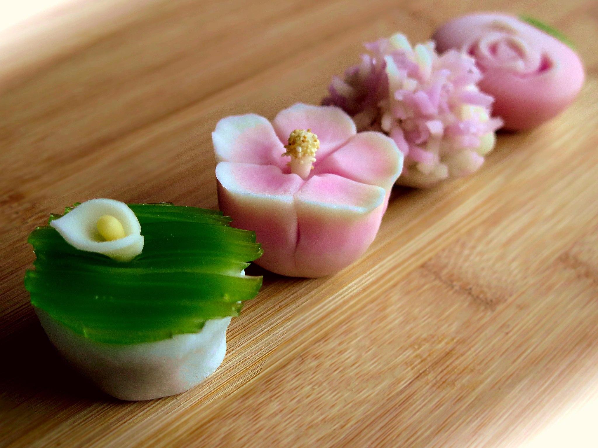 Wagashi giapponese ricetta